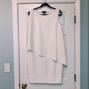 White size 16 Ralph Lauren white sleeveless dress